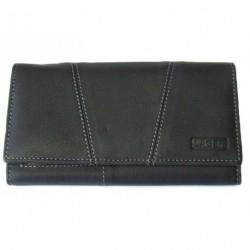 Dámská kožená peněženka Lagen PWL-388/W černá