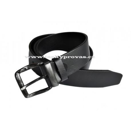 Opasek kožený Penny Belts 01-1-60HL černý