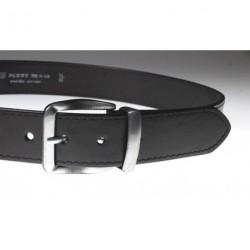 Opasek kožený Penny Belts 01-1-60PR černý