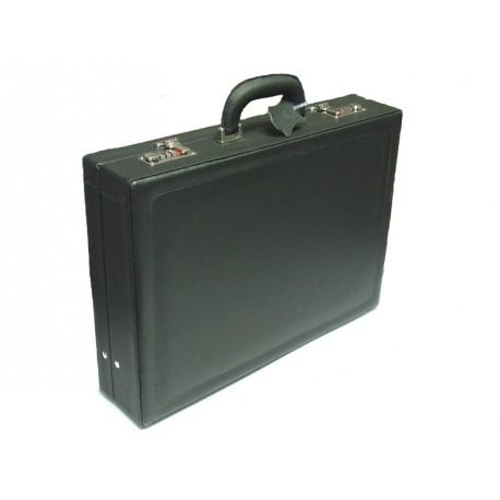 Dup atašé kožený kufr 230701-009 černá