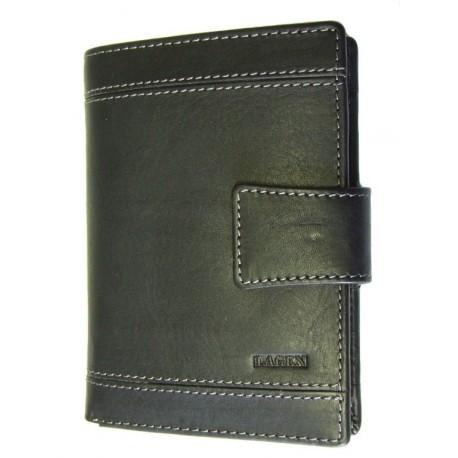 Kožená peněženka Lagen 61162 černá