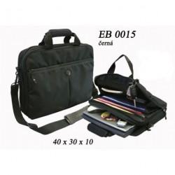 Taška na notebook přes rameno ECG EB-0015 černá