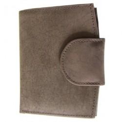 Krol 083-80 hnědá kožená peněženka