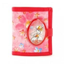 Dětská peněženka Diddlina Romantic Flowers 11344 růžová
