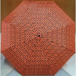 Deštník skládací Falconetti  LF 135 A oranžovo-černý