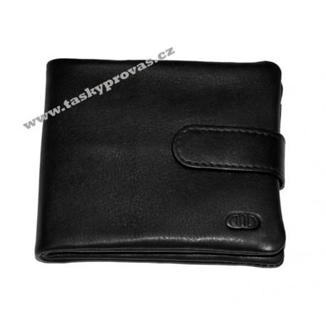 Pánská kožená peněženka DD FL ZF 23 černá