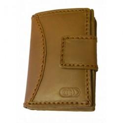 Dámská kožená peněženka DD EX B 06 sv.hnědá