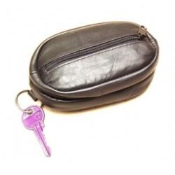 Arwel kožená klíčenka 619-0375 černá