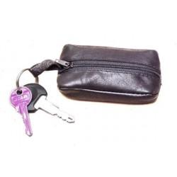 Arwel kožená klíčenka 619-2418 černá