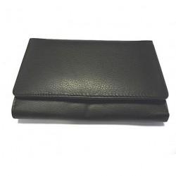 KROL 8087 černá kožená dámská peněženka