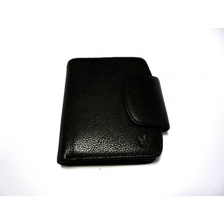 King kožená peněženka 8970 černá