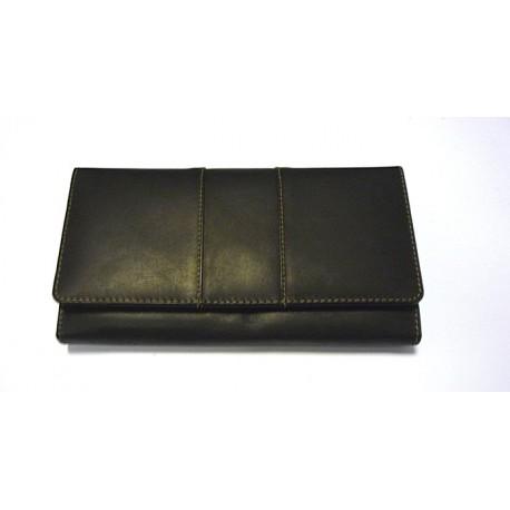KROL 7052 černá dámská kožená peněženka