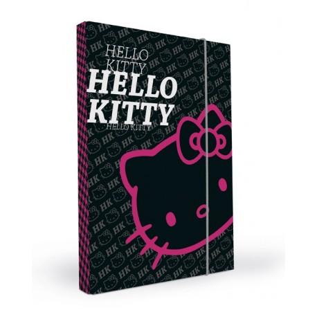 Box na sešity A4 P+P Karton 1884 Hello Kitty barva: černá 2013