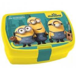Box na svačinu Mimoni - Dumar Minios LG barva: žlutá/tyrkys