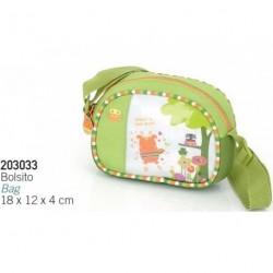 Dívčí kabelka Gabol FUN DAY 203033 zelená/bílá