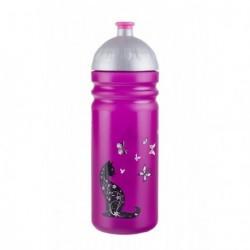 Zdravá lahev Nová generace 0, 7 l Kočka (fialová)