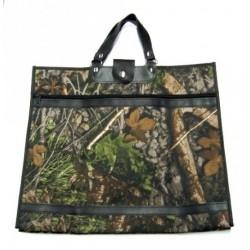 Nákupní taška KŠK vz. 208 hnědá/zelená příroda
