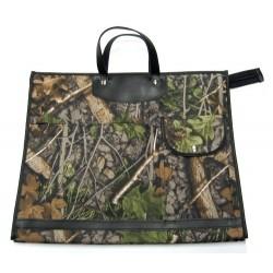 Nákupní taška KŠK vz. 232 hnědá/zelená příroda