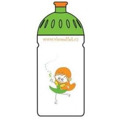Nápojová lahev 0,5 l Anděl barva: bílá