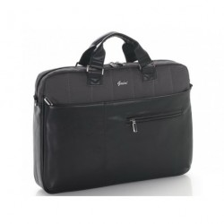 """Taška na notebook 17.3"""" + TABLET 10"""" Gabol MIXTURE 407910 černá/šedá"""