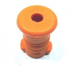 Zátka na zdravou láhev - oranžová