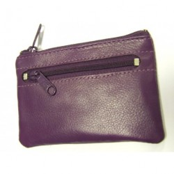 klíčenka kožená Arwel 619-0370 purple