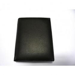 Krol 8021 černá kožená peněženka