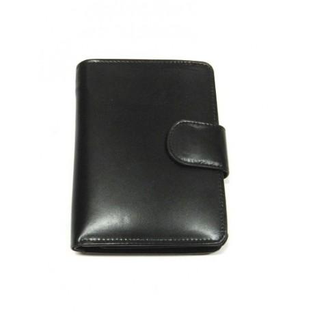 Krol 2069 černá kožená peněženka