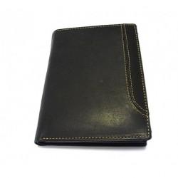 Krol 7070N černá kožená peněženka