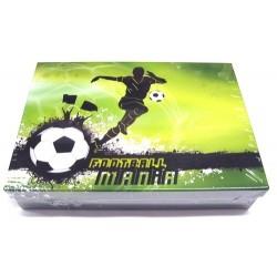 Školní krabice do lavice Fotbal S zelená (snížená velikost)