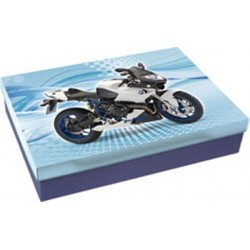 Školní krabice do lavice Stil BMW