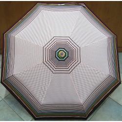 Deštník plně automatický Keep Raining 1303 hnědý