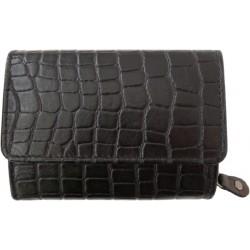 Kožená peněženka dámská King WFY 449 černá