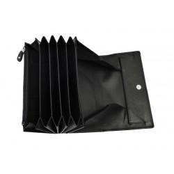 Kožená černá kasírka DD X 133-01