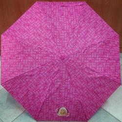 Deštník dětský skládací Perletti Barbie 79020 tm. růžová