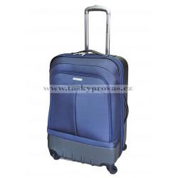 Cestovní kufry sada Silvercase 3 ks.sada 9718 tm.modrá