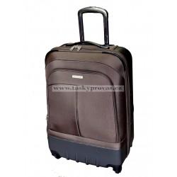 Cestovní kufr Silvercase 9718 70 hnědá