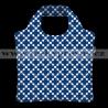 Ecozz taška EcoShopper Squares Blue