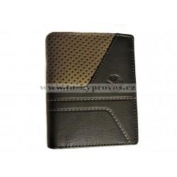 Pánská kožená peněženka Segali 19048 černá/taupe