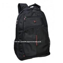 Batoh s kapsou na notebook Enrico Benetti 47082 černá