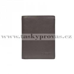Pánská kožená peněženka Lagen W-112 hnědá