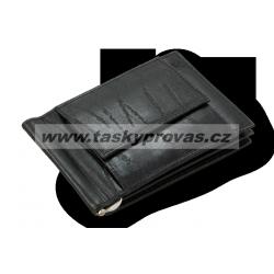 Pánská kožená peněženka dolarka Arwel 519 - 8103 černá