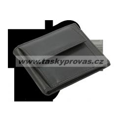 Pánská kožená peněženka dolarka Arwel 519 - 2908 černá
