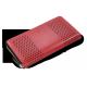 Dámská kožená peněženka Arwel 511-4722-31/60 červená/černá