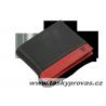 Pánská kožená peněženka Arwel 513-4723 black/red