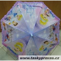 Deštník holový Perletti 50414 Cinderella