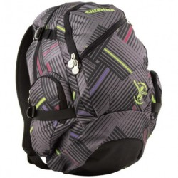 Chiemsee batoh Techpack stripe check black 102663
