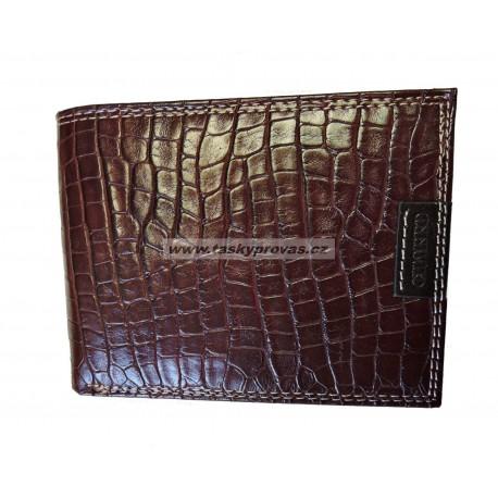 Kožená pánská peněženka Charro 617292 hnědá