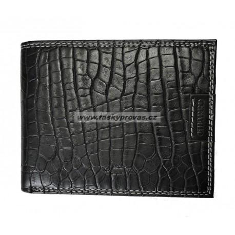 Kožená pánská peněženka Charro 617292 černá