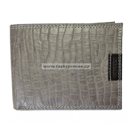 Kožená pánská peněženka Charro 617340 šedá